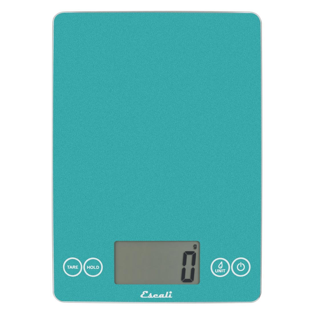 "Escali Arti 157SB Precision Glass Surface Kitchen,Herb, Nutrition, Calorie Counting Scale, Digital LCD Display, 15lb Capacity, Sky Blue, 9"" x 6.5"" x 0.75"""