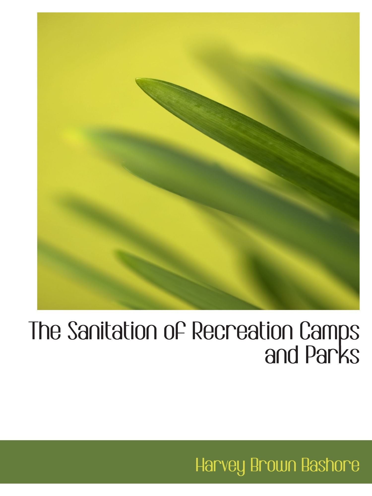 Download The Sanitation of Recreation Camps and Parks PDF