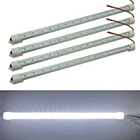 Ampper 12V Interior LED Light Bar, 48 LEDs Interior Light with Switch for Car Van RV Cabinet Showcase Indoor Home and…