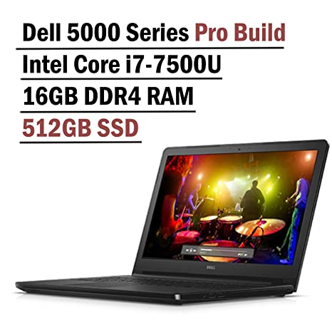 Amazon.com: DELL Inspiron portátil con Intel i7 – 7500u ...