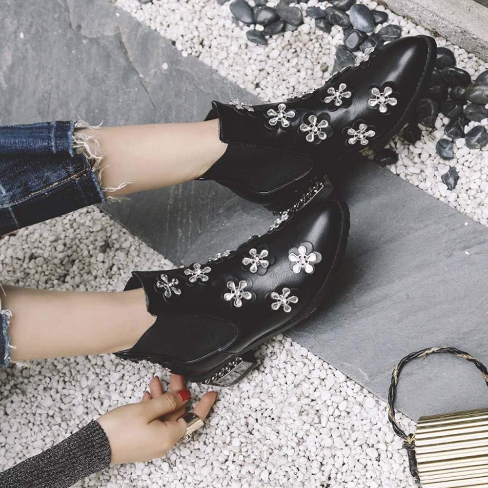 Hopsd Dimensional Fiori Martin Stivali Donna Extra Large Stivali Large Size Commercio Estero con Stivaletti B