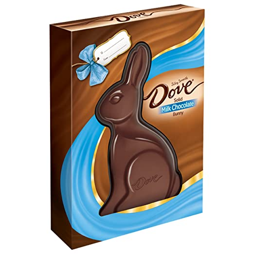 Dove Milk Chocolate Solid Easter Bunny, 12 Ounce
