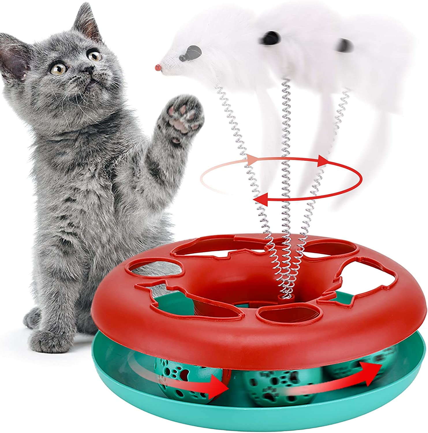 Cat Toys,Interactive cat Toy cat Toys for Indoor Cats,Dog Funny Toys,Kitten Toys for Exercising and Playing