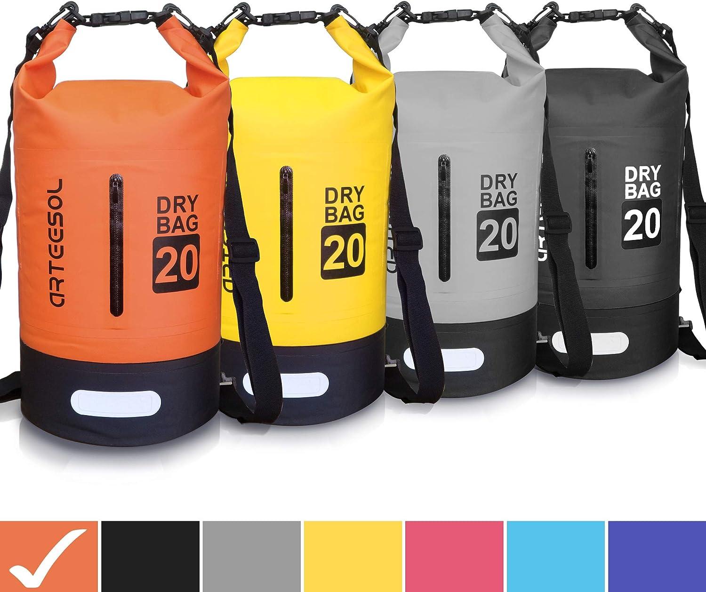 arteesol Bolsa Impermeable, 5L 10L 20L 30L a Prueba de Agua