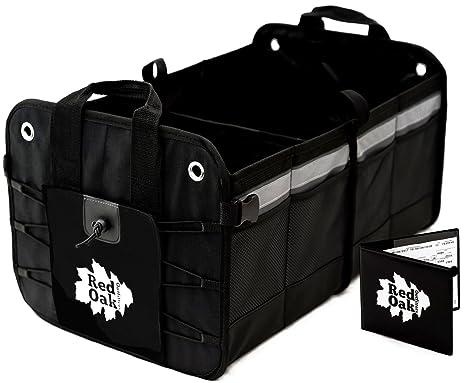 Amazoncom Premium Car Trunk Organizer Foldable Cargo Container