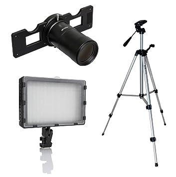 Opteka Slide fotocopiadora Kit de iluminación de estudio para Sony ...