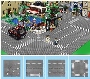 Plaques 32 City Assortiment Modbrix Baseplaques X De 4 Rue ikXZPu