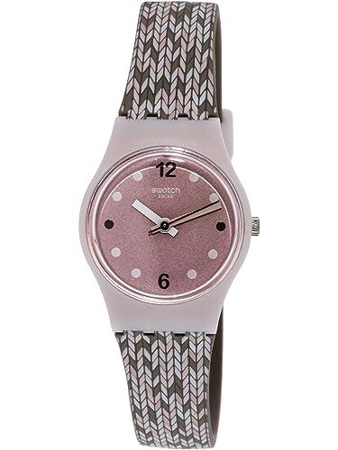 Swatch Mujer Analógico de Cuarzo Reloj con Pulsera de Silicona LP151: Amazon.es: Relojes