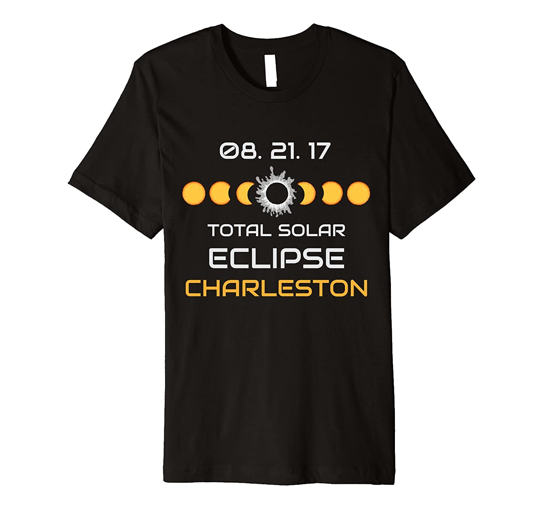 CHARLESTON Solar Eclipse Tee Shirt PREMIUM T-Shirts-BN