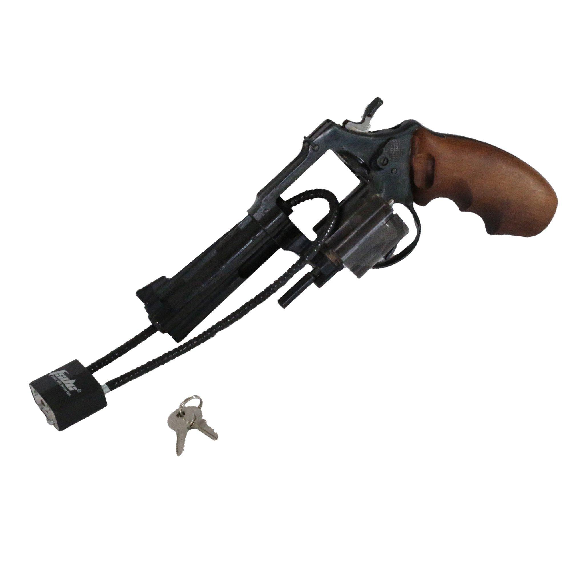 Fsdc 15 California Doj Approved Keyed Cable Gun Lock