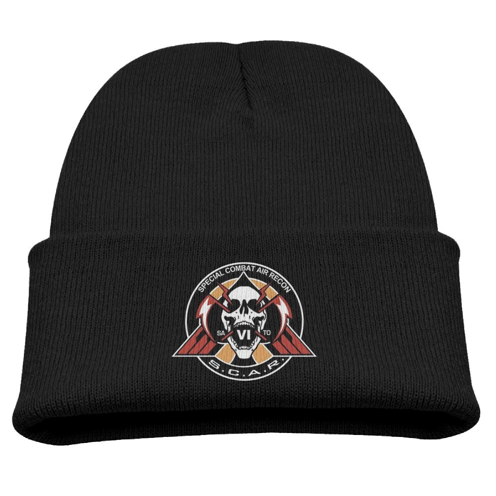 Karenosi Call Duty: Infinite Warfare Warm Winter Hat Knit Beanie Skull Cap Cuff Beanie Hat Winter Hats Kids Larenoto