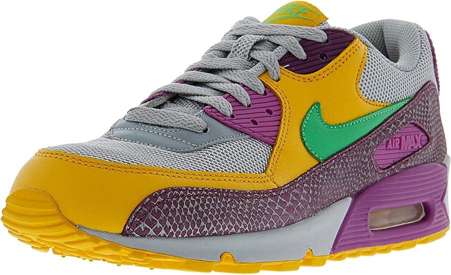 Nike Air Max 90 - Zapatillas de piel para mujer: Nike ...