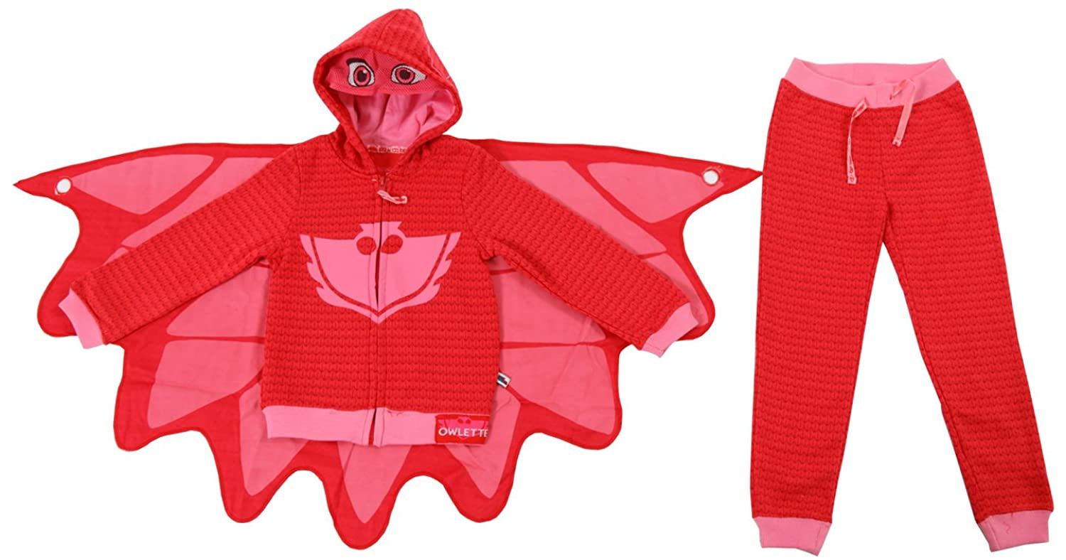 Amazon.com: PJ Masks Owlette Girls Toddler Hoodie and Pants Set (4T): Clothing