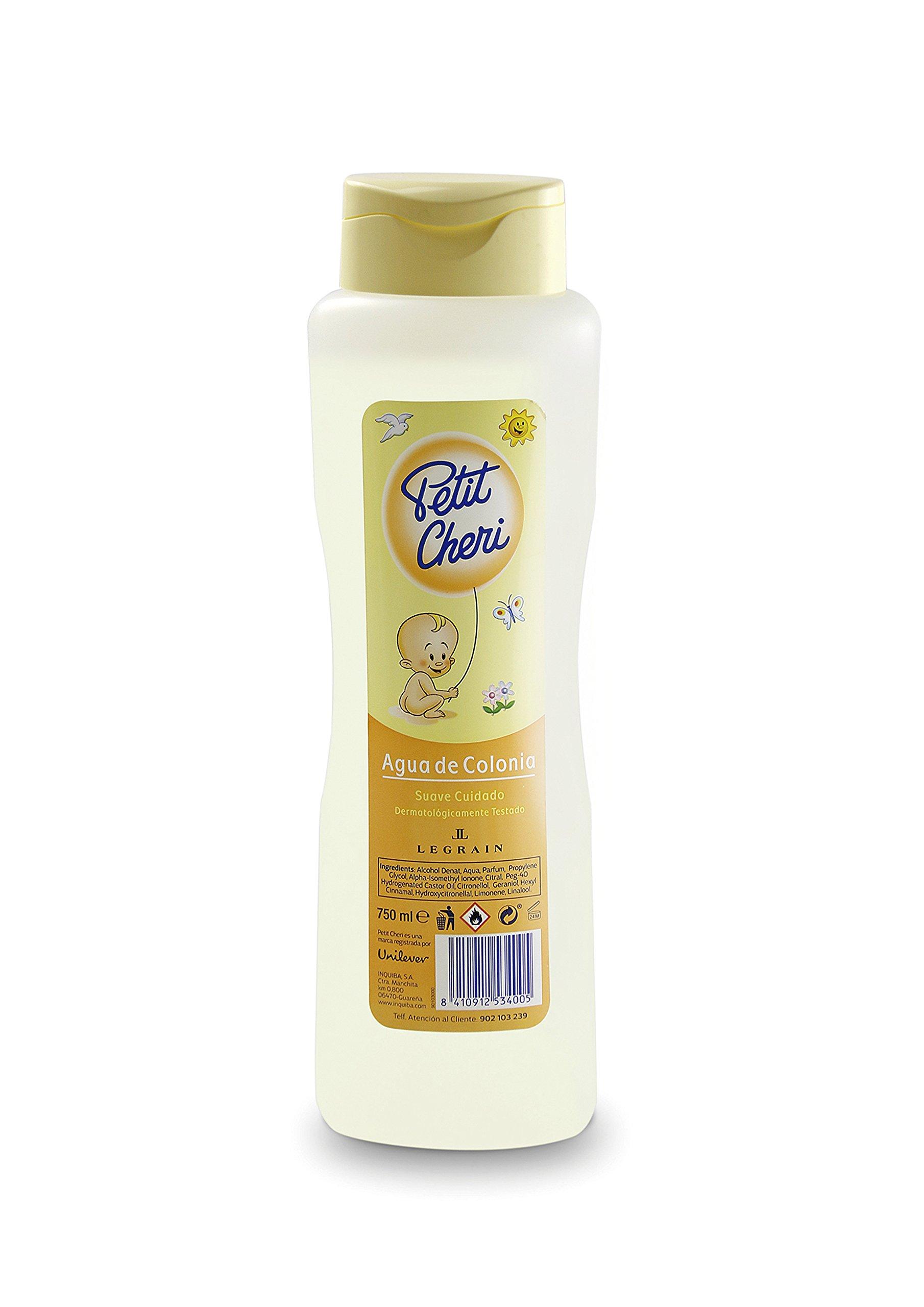 Petit Cheri by Legrain Eau De Cologne 24.9 oz Dermatologist Tested