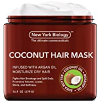 Coconut Hair Mask for Hair Growth and Volume - Infused with Argan Oil - Moisturizing...