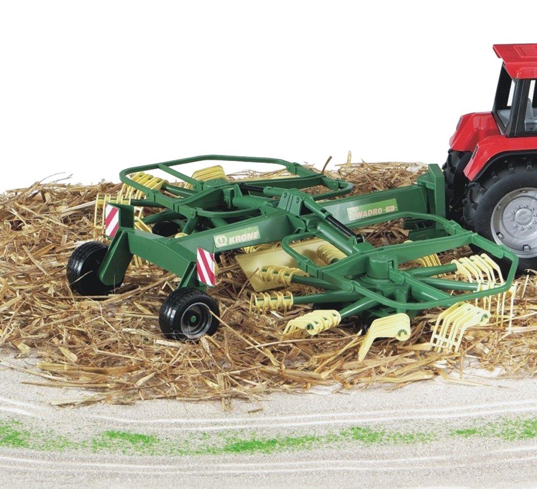 Spielzeug-Landwirtschaft BRUDER 02216 Krone Schwader Heuwender günstig kaufen