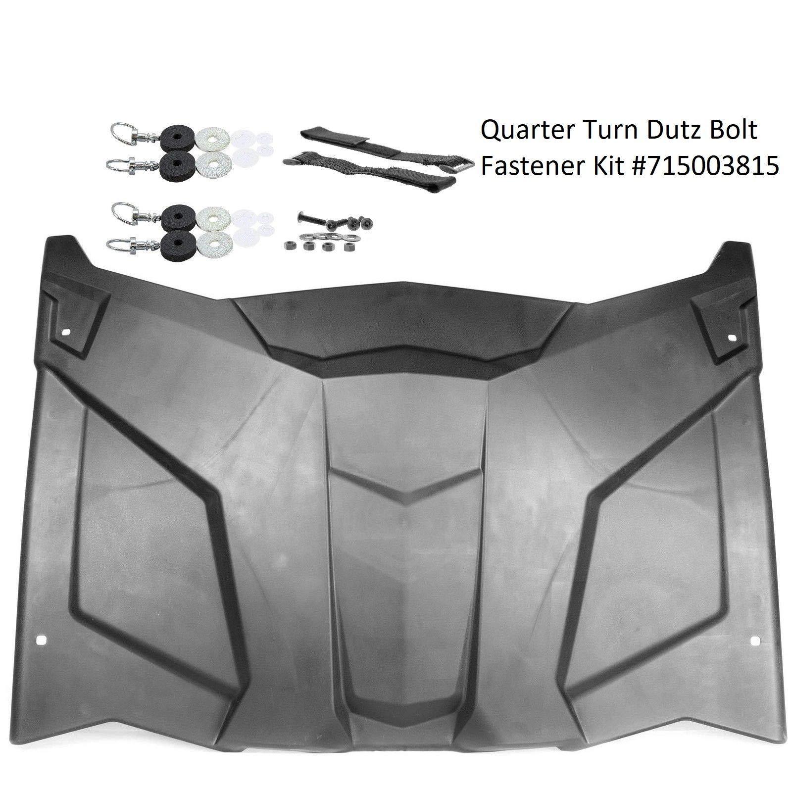 Mutazu Polypropylene Sport Roof for Can Am Maverick X3 & Hardware kit #715003815 (X3 roof #2) by Mutazu