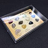 VORCOOL 15Pcs Mini Agate Raw Gemstone Collection