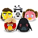 Play By Play Luke Skywalker Angry Birds Star Wars Red Bird Plush Soft Toy 6'' Mobile Videogame