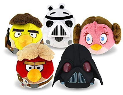 Angry Birds Star Wars Toys : New angry birds star wars plush toys are coming to a store near