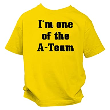 I M One Of The A Team Fun Kinder T Shirt Spruch Shirt Amazon De