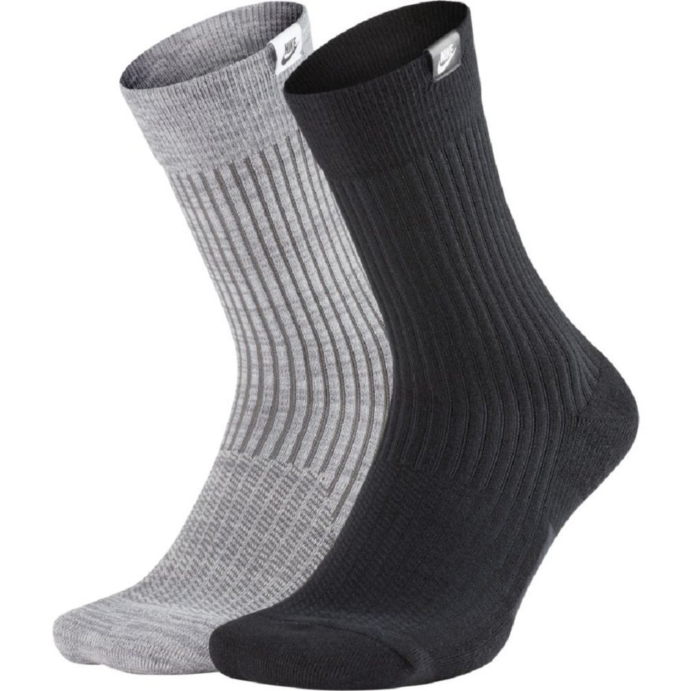 Nike SNEAKER SOX CREW 2 PAIA SX7169-902 BLACK GREY