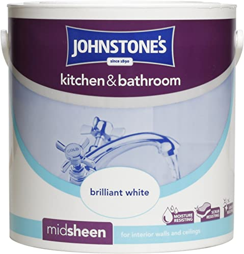 Bathroom Paint Matt: Dulux Easycare Kitchen Matt Paint, Lemon Pie, 2.5 Litre