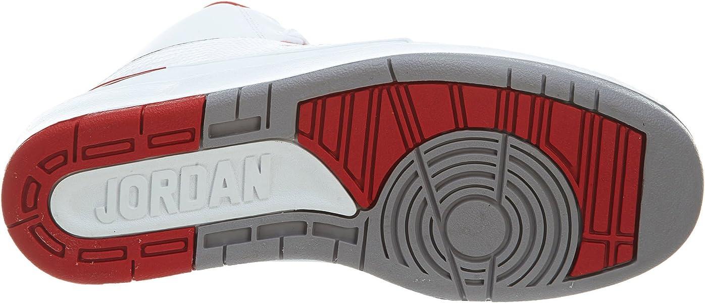 b86446bbfae NIKE JWONGBOUTIQUE 2014 Air Jordan II White Varsity Red 395718 sz 6. Back.  Double-tap to zoom