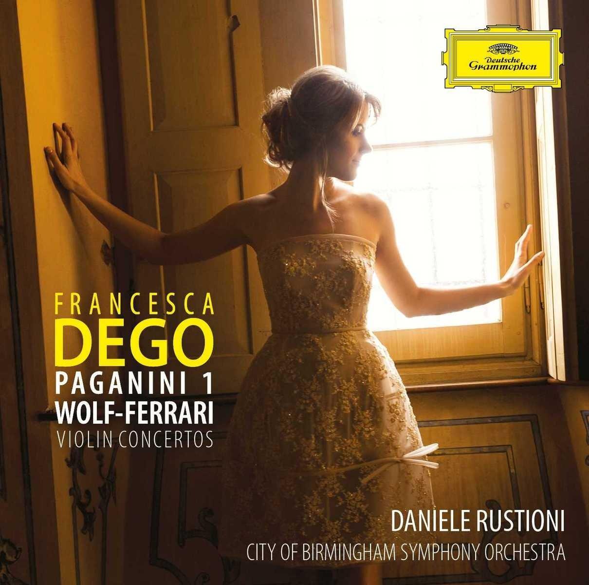 CD : Francesca Dego - Paganini 1 Wolf-ferrari Violin Concertos (CD)