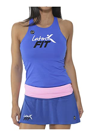 Emwey Coleccion Latin Fit Camiseta Asas Mujer para Fitness