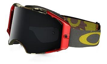 4c0df54c91 Oakley Airbrake MX Flight Series Scorpions Men s Dirt Motocross Motorcycle  Goggles Eyewear - Dark Grey