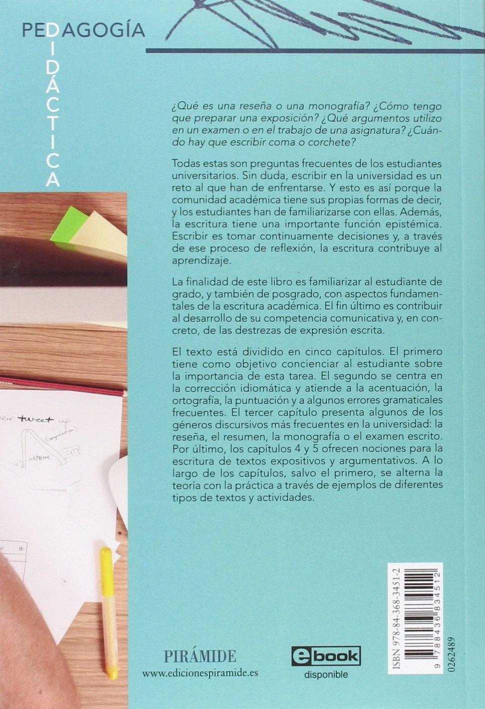 Amazon.fr - Escritura académica: De la teoría a la práctica - Juan ...