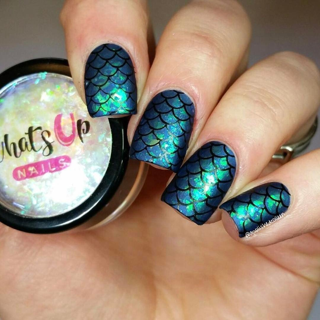Amazon.com : Whats Up Nails - Mermaid Flakies : Beauty