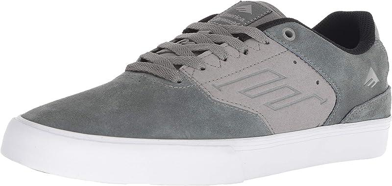 Emerica Reynolds Low Vulc Sneakers Damen Herren Unisex Grau/Hellgrau