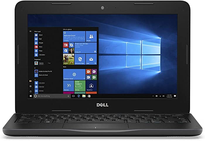 Dell Latitude 3180 HD Laptop Notebook Educational PC (Intel Pentium N4200 Quad Core, 4GB Ram, 128GB Solid State SSD, Camera, HDMI, WiFi, Bluetooth) Windows 10 (Certified Refurbished)