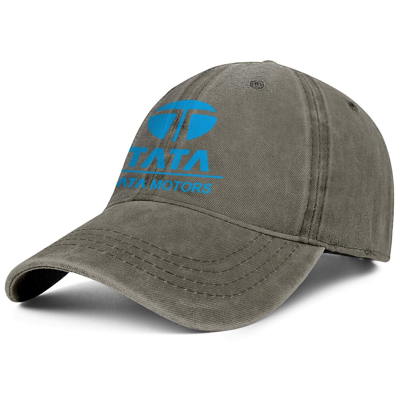 QFPMZJUIE Men Women Hat Tata Motors Logo Snapback Hats Designer Denim Cap Youth Caps