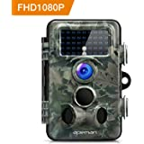 apeman Trail Camera 12MP 1080P HD Wildlife Camera 130° Wide Angle Lens 120° Detection 42 Pcs 940nm Updated IR LEDs Night Version up to 20M/65FT Hunting Camera IP66 Spray Water Protected Design