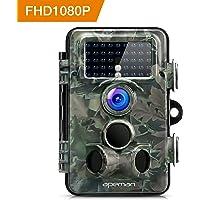 APEMAN Caméra de Chasse 12MP 1080P Caméra de Surveillance Infrarouge Grand Angle 130° Lens 42PC 850nm IR LEDs Vision Nocturne jusqu'à 65