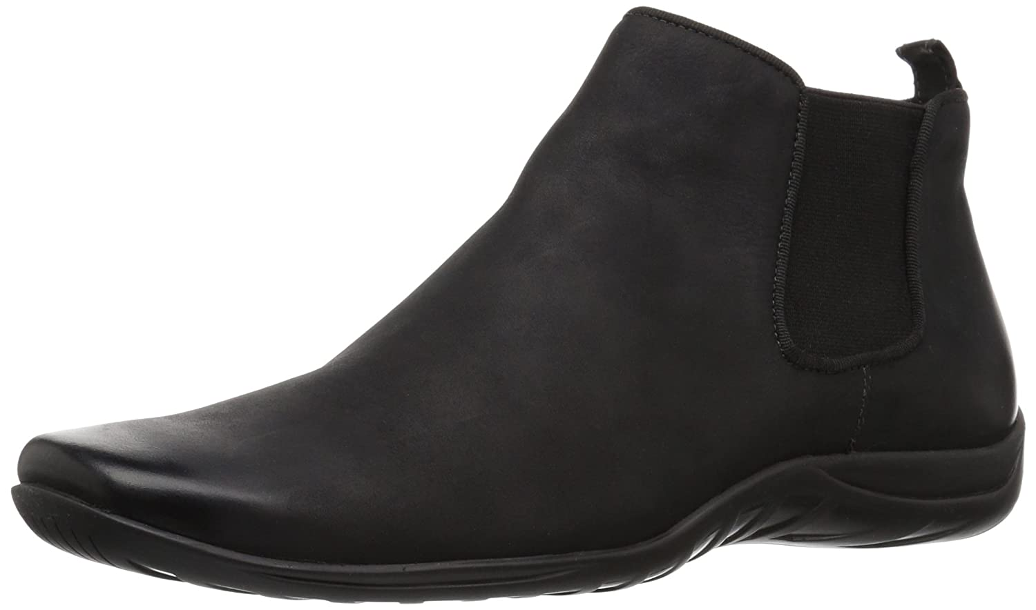 Walking Cradles Women's Ante Ankle Boot B0737J62XQ 11 B(M) US|Black Distressed