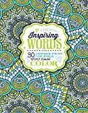 Inspiring Words: 30 Verses from the Bible You Can Color (Colouring Books)