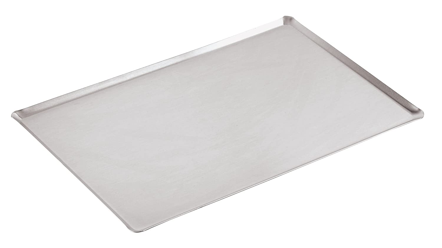 Paderno World Cuisine 23 5//8 Inch by 15 3//4 Inch Straight Sided Aluminum Baking Sheet