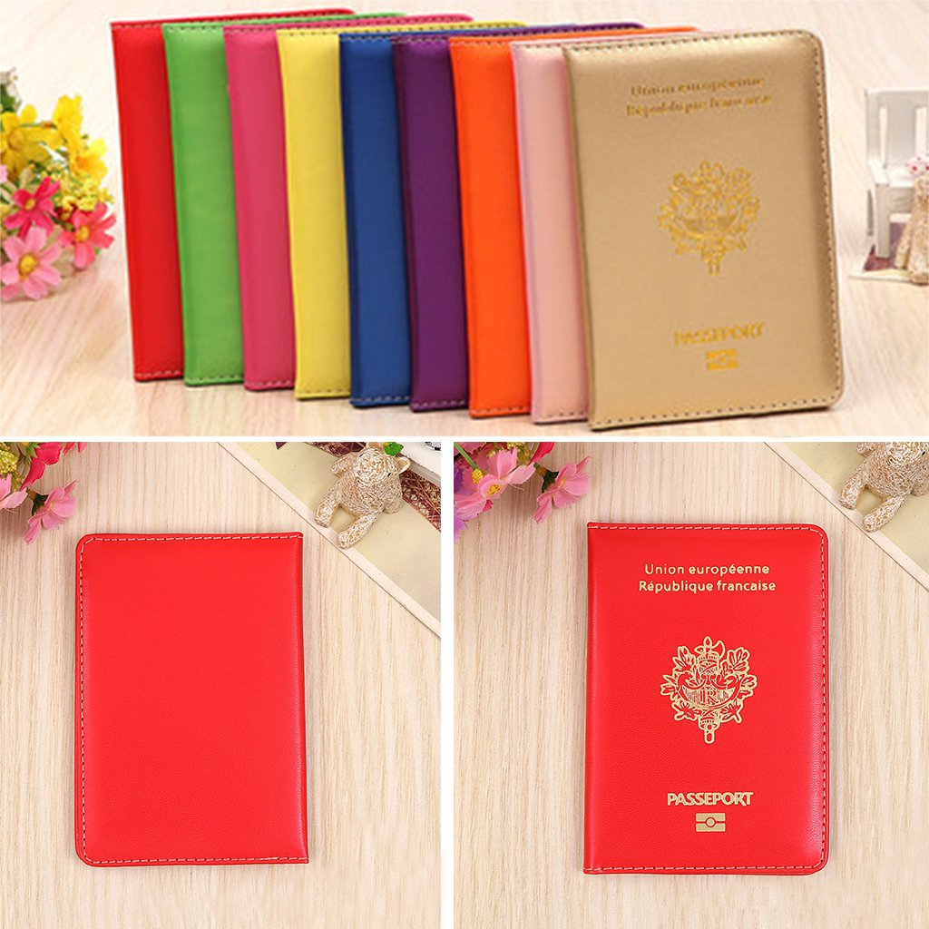 ShapeW Travel Passport ID Card Cover Holder Case Protector Organizer Gift French New