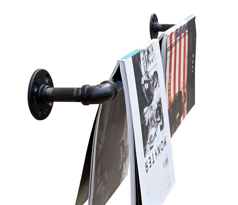 industriel Tuyau Serviette Rack en DIY Baba/ Noir stockage bar Porte-manteaux et industriel pour meubles//Farmhouse D/écor /mat/ériel uniquement/ 48 /Id/éal pour: Tringle /à rideau Inch
