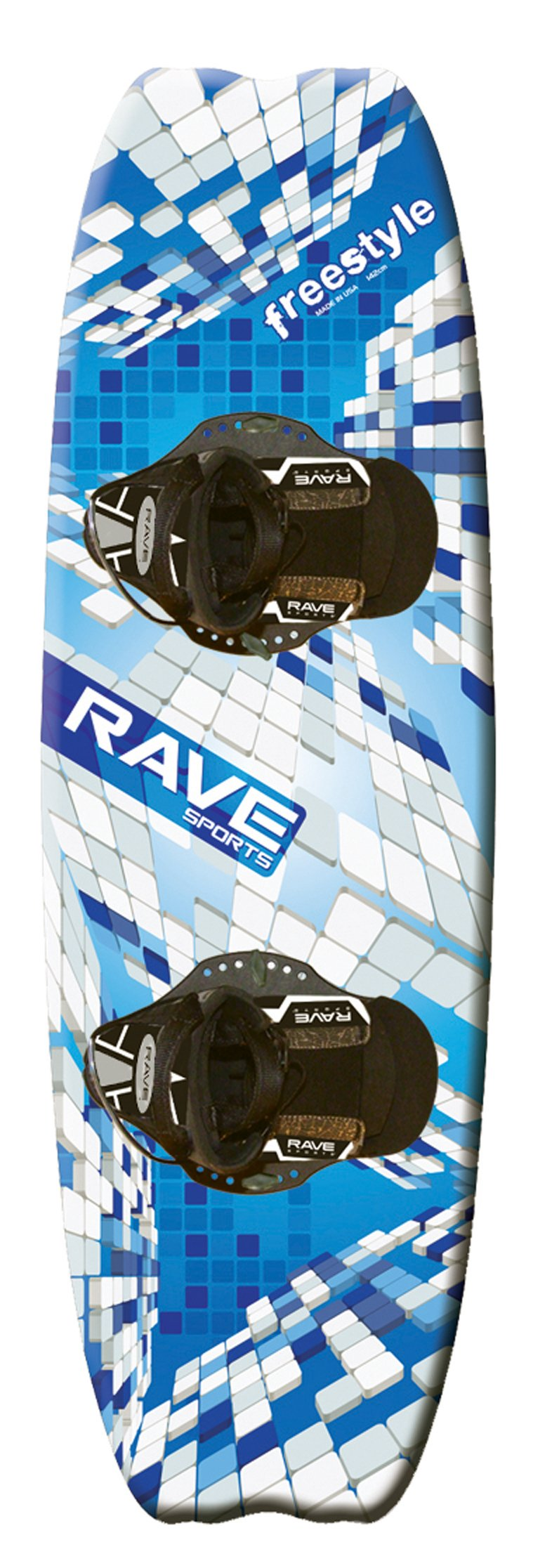 RAVE Sports Freestyle Wakeboard with Striker Boots by RAVE Sports