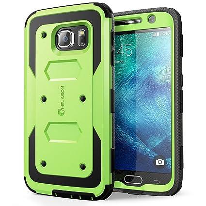 size 40 acf9e 85b1b Galaxy S6 Case, [Armorbox] i-Blason Built in [Screen Protector] [Full Body]  [Heavy Duty Protection ] Shock Reduction[Bumper Corner] for Samsung Galaxy  ...