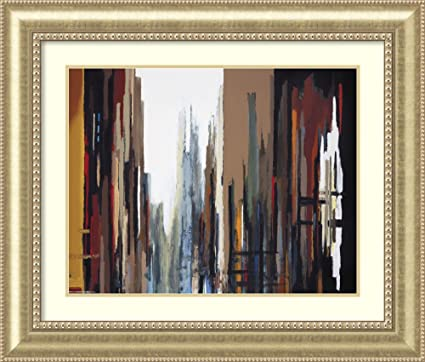 Amazon.com: Framed Art Print \'Urban Abstract No. 165\' by Gregory ...