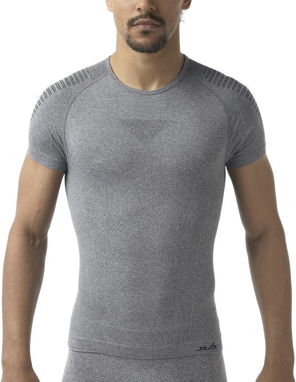 Sub Sports SubAir Mens Seamless Baselayer Top Short Sleeve Workout T-Shirt