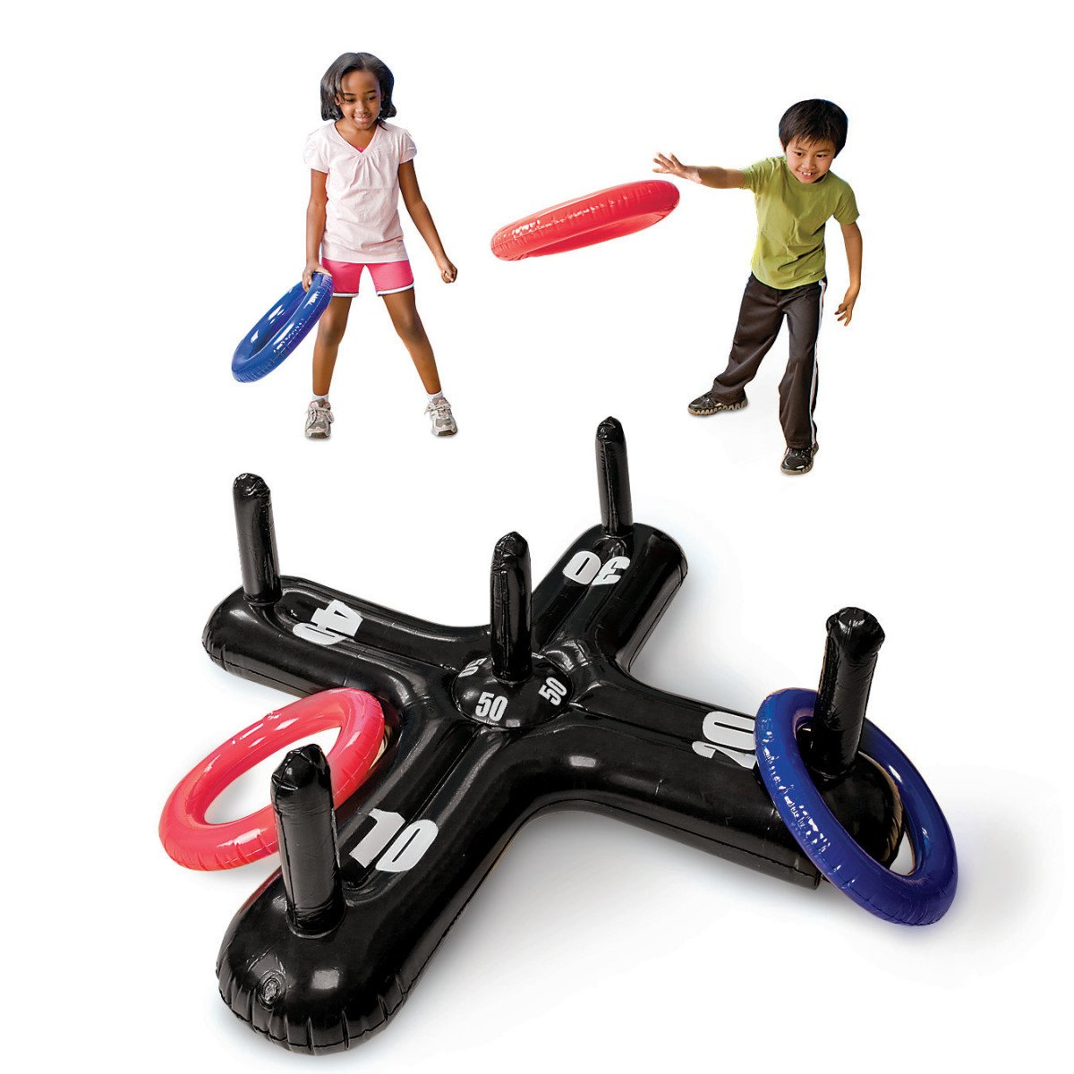 S&S Worldwide Jumbo Inflatable Ring Toss
