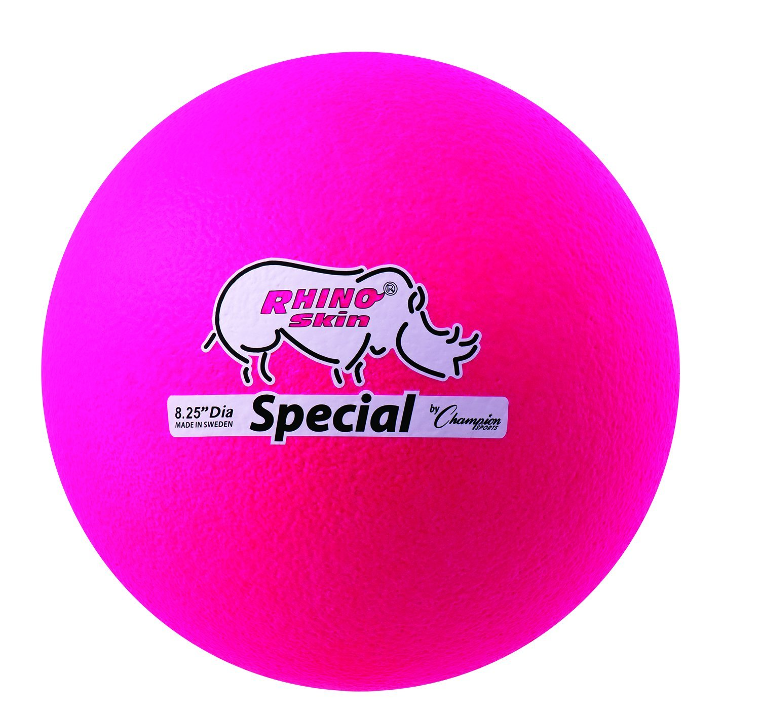 Champion Sports Rhino Skin Special Ball (Neon Pink) by Champion Sports