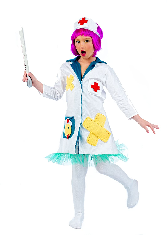Limit Sport MI682 Grösse - Disfraz de enfermera para niña (talla 2 ...